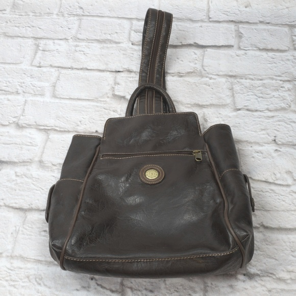 529f247f20d Pineland Bags | Vintage Brown Leather Small Backpack | Poshmark